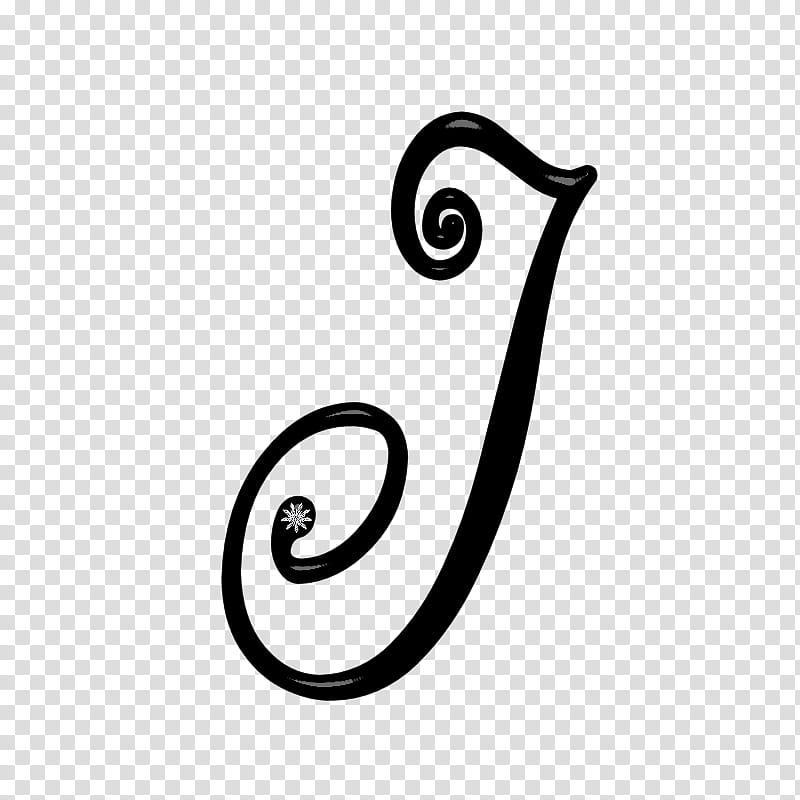 Noir Taggers Scrapkit, black J letter text transparent.