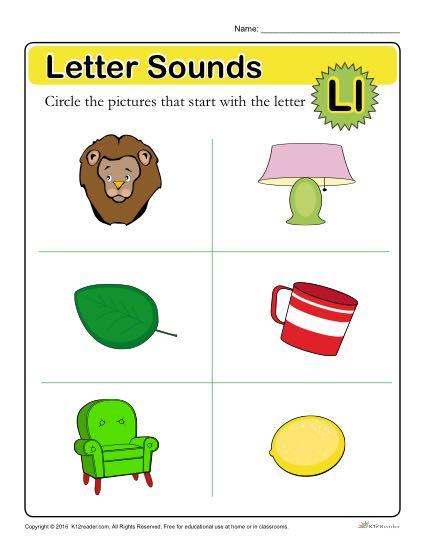 Letter Sounds: L.