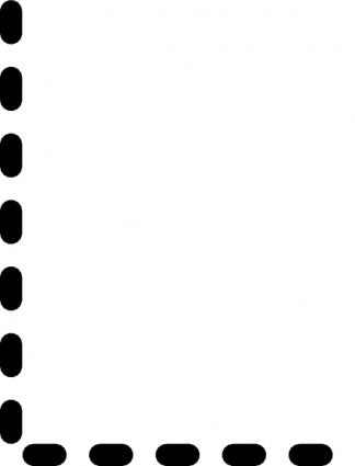 Alphabet Tracing Letter L clip art vector, free vector images.