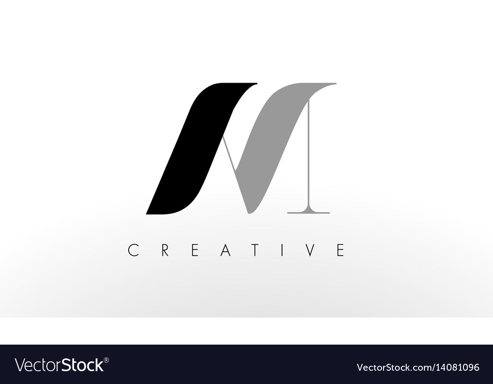 A m letter logo design creative am letters icon.