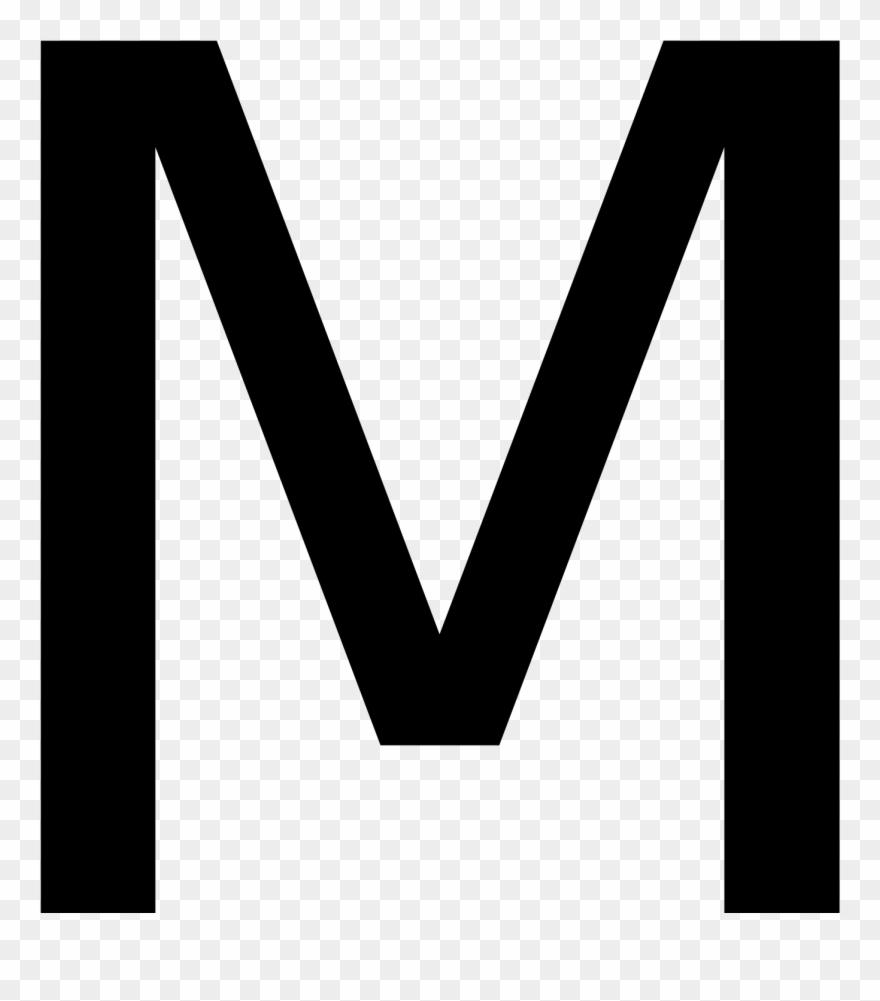 Capital Letter M Clipart (#627105).