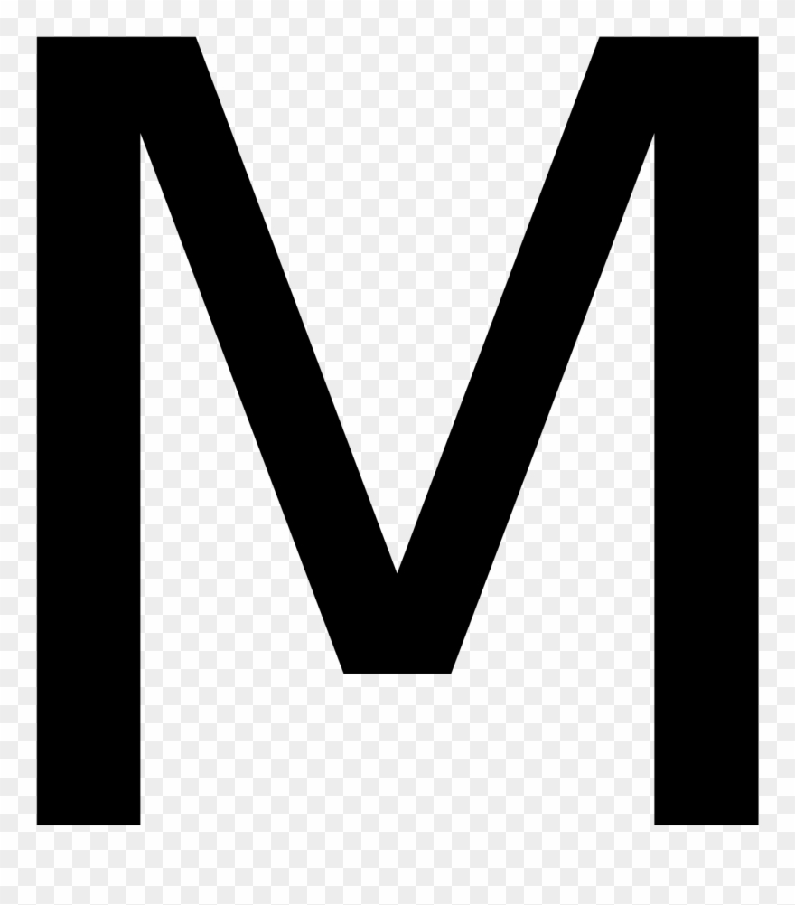 Capital Letter M Clipart (#627105).