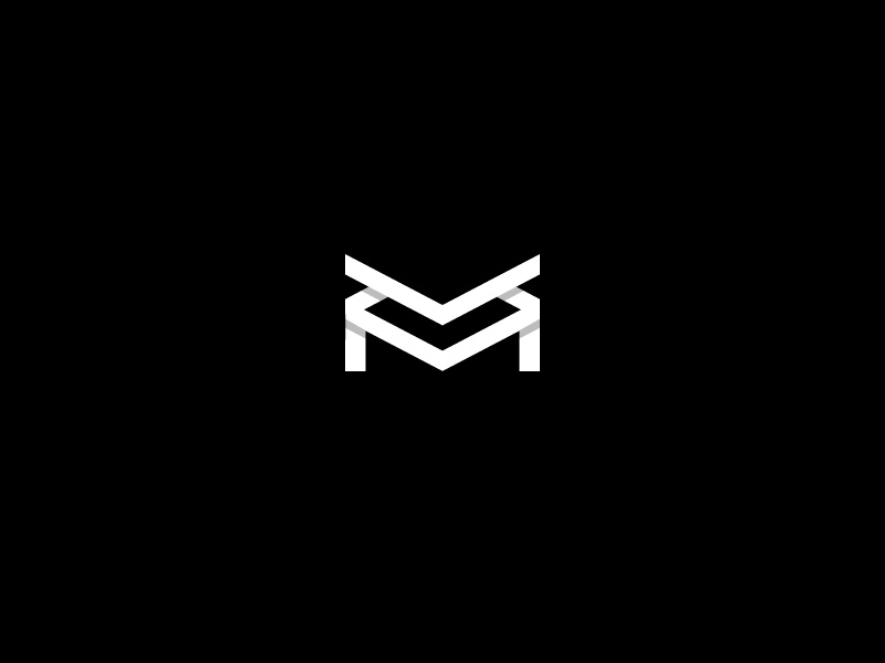 Abstract Letter M Logo by Kanades on Dribbble.