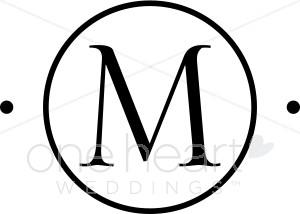 Letter m monogram clipart 1 » Clipart Station.