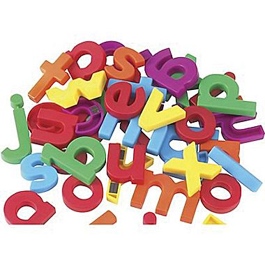 Educational Insights® AlphaMagnets® Multi Colored Letter Magnets.
