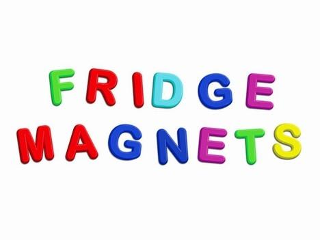 Letter Magnets Clipart.