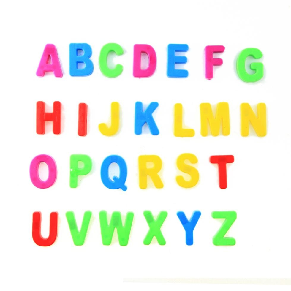 Magnetic Letters Cliparts.
