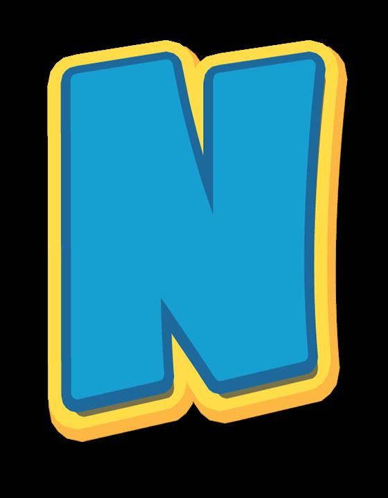 Alphabet Paw Patrol Letter N.