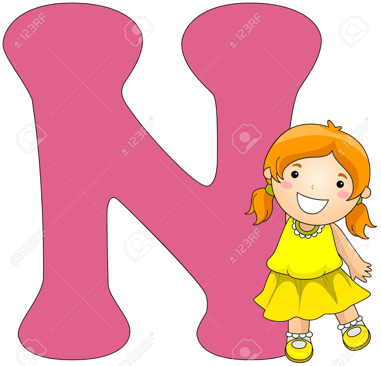 Letter n clipart 2 » Clipart Station.
