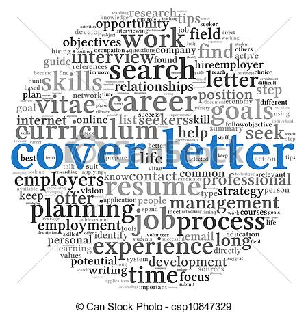 Cover letter clipart.
