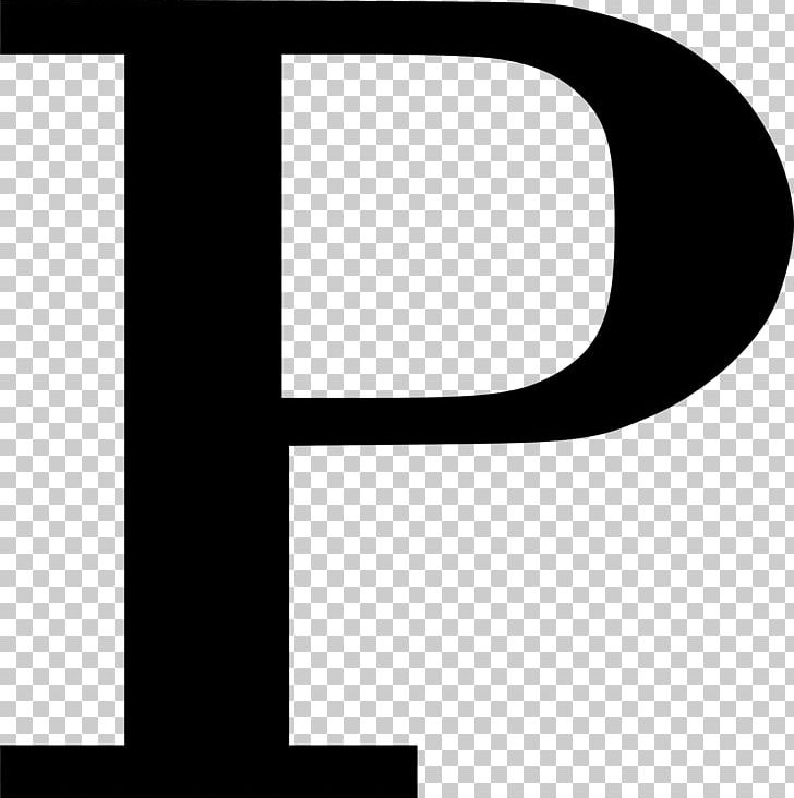 Letter P PNG, Clipart, Angle, Black, Black And White, Brand.