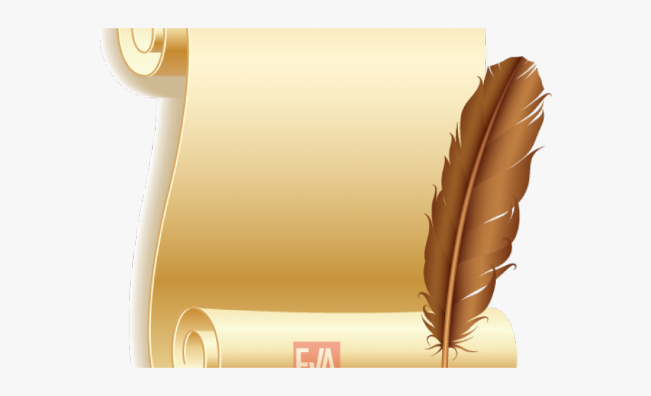 Old Letter Clipart Paper Quill.
