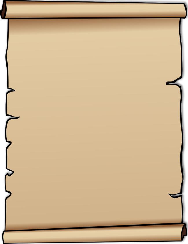 Letter Paper Clipart.
