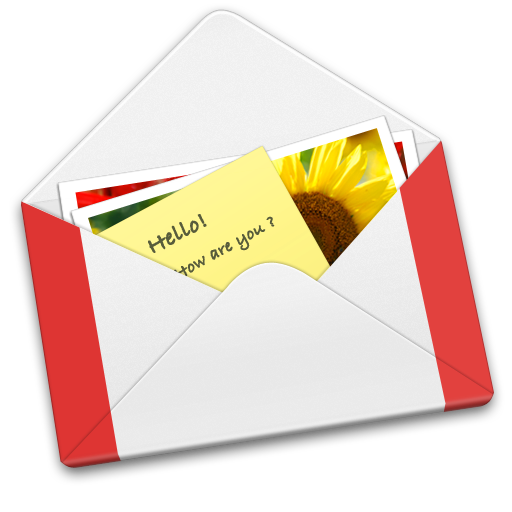 Letter GMail Icon.