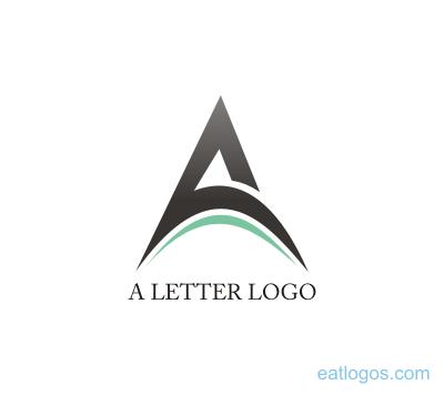 Png a letter logo design download.