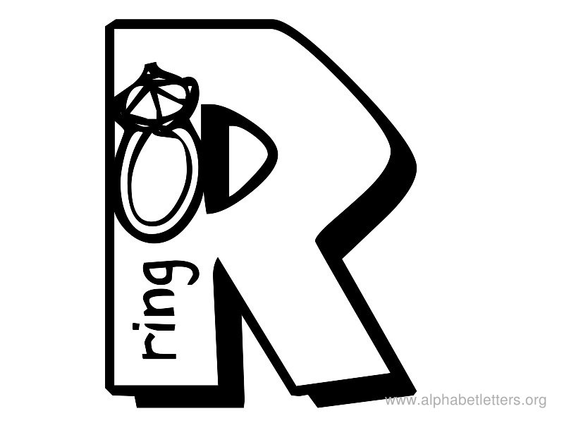 Free Letter R Clipart Black And White, Download Free Clip.