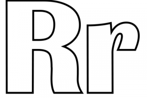 Letter r clipart black and white 1 » Clipart Station.