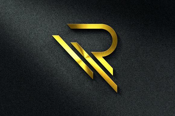 Letter R Logo Template.
