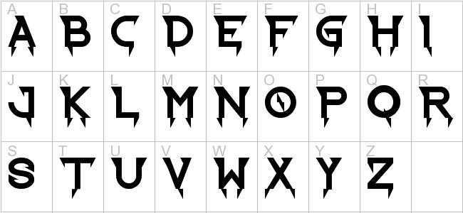 Similiar Harry Potter Lightning Bolt Font Keywords.