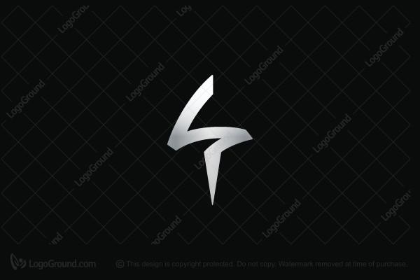 Exclusive Logo 155047, Spear Letter S Logo.