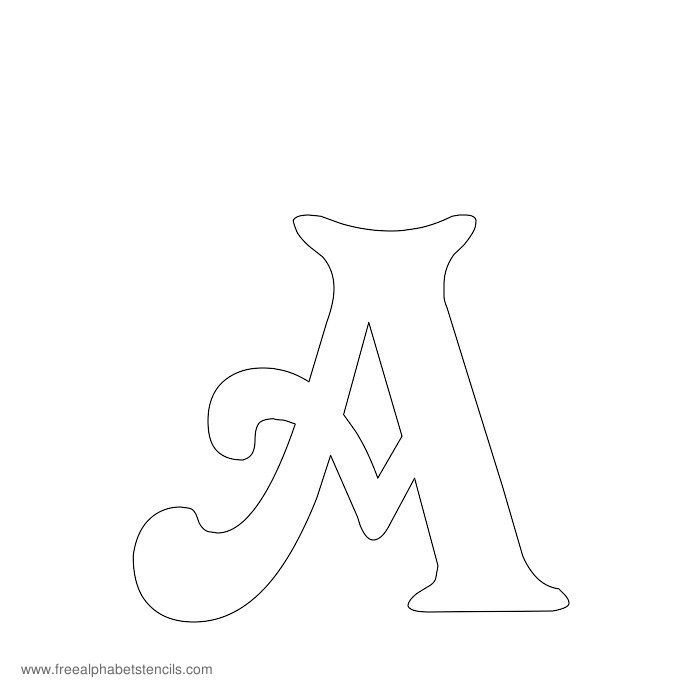 Letter stencil clipart clipground 25 best ideas about free printable stencils on pinterest publicscrutiny Gallery