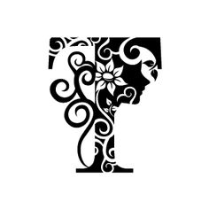 Free Black And White Clipart Starting With The Letter T.
