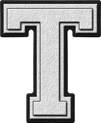 Letter T Black And White Png & Free Letter T Black And White.