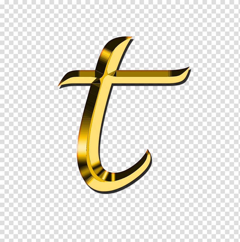 T logo, Small Letter T transparent background PNG clipart.