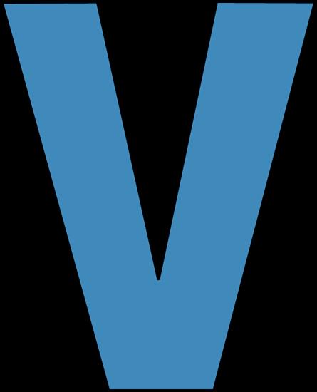 Letter V Cliparts.