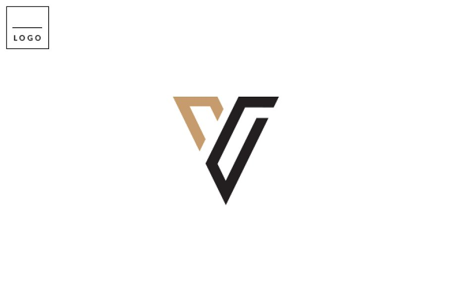 Letter V Logo.