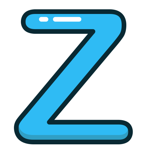 Letter Z PNG Picture.