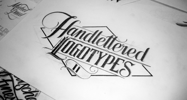 Hand Lettered Logo Designs by Mateusz Witczak.