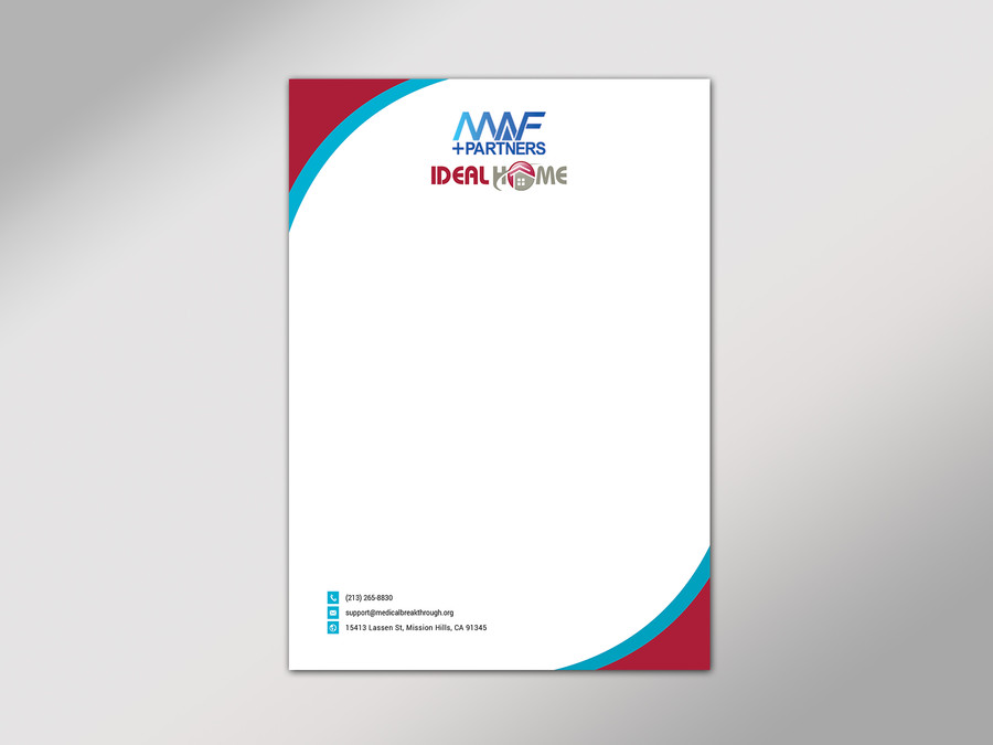 Entry #41 by kushum7070 for Design Joint venture letterhead.