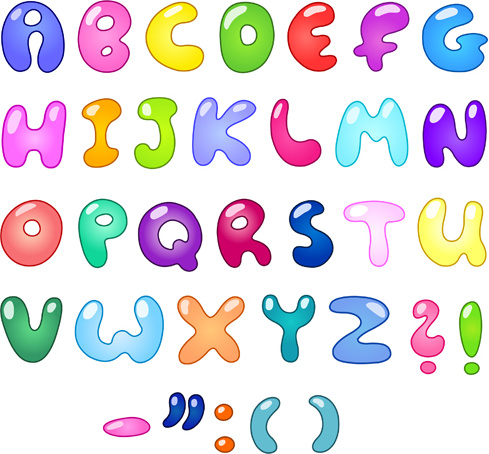 Alphabet letters clipart free vector download (5,800 Free vector.