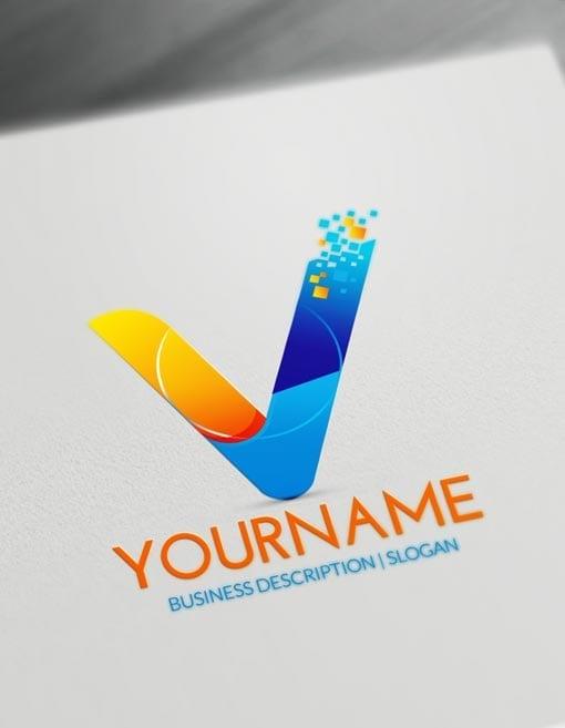 Free Letters Logo Maker.