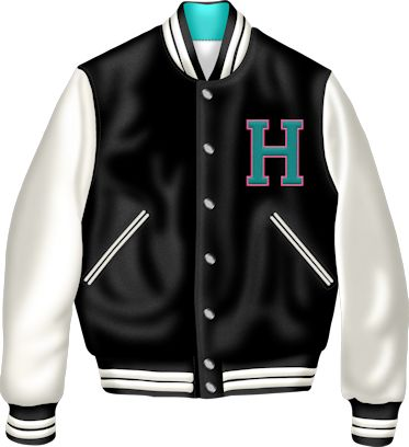 Letterman jacket clipart.