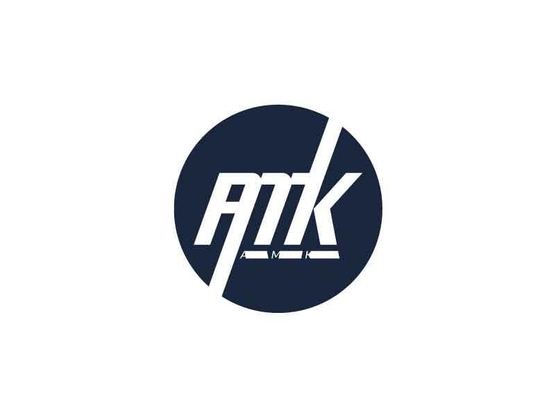 lettermark logo AMK by faris azhar on Dribbble.