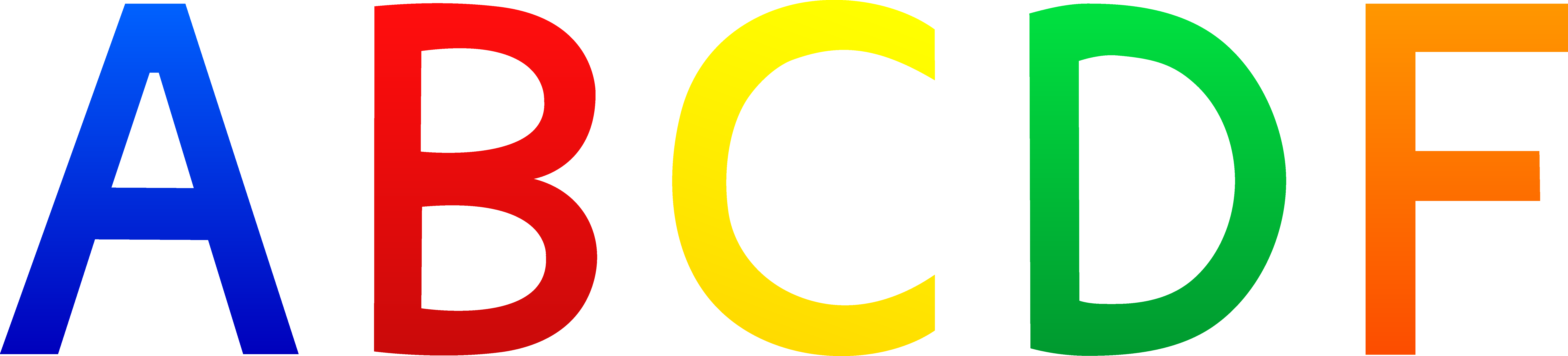 Free Letter Clipart.