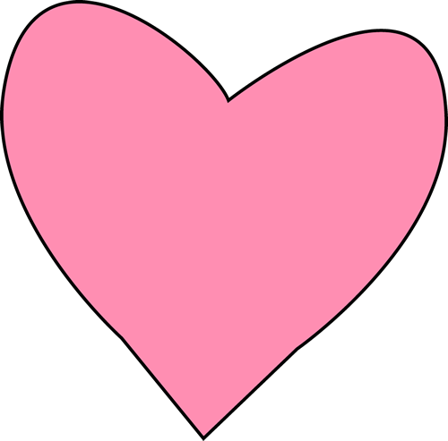 Letters In A Heart Clipart.