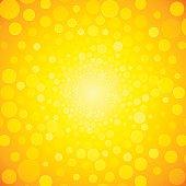 Gelben Kreis Hell Hintergrund premium clipart.