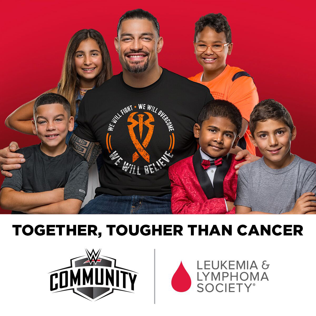 WWE® And The Leukemia & Lymphoma Society (LLS) Join Forces.