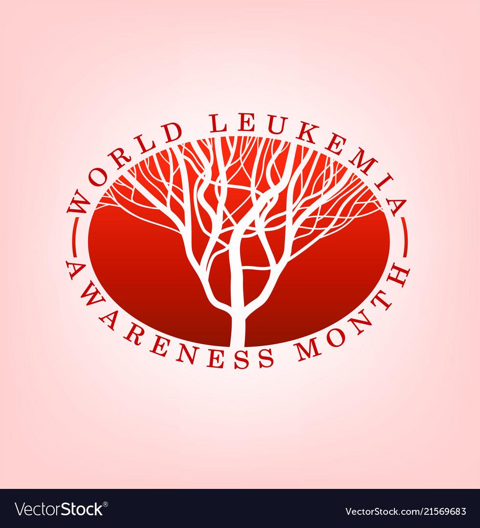 Leukemia day logo.