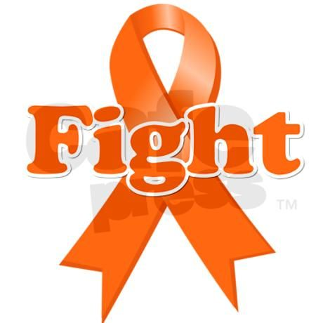 Fight Leukemia Greeting Card by shop4awareness.
