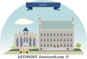 Leuven Clipart and Illustration. 34 leuven clip art vector EPS.