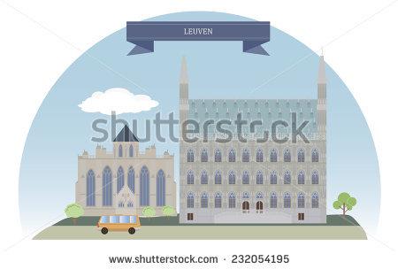 Leuven Belgium Stock Vectors & Vector Clip Art.