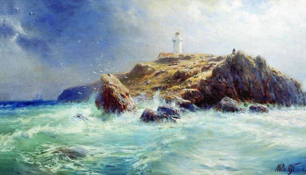 A Lighthouse, 1895.