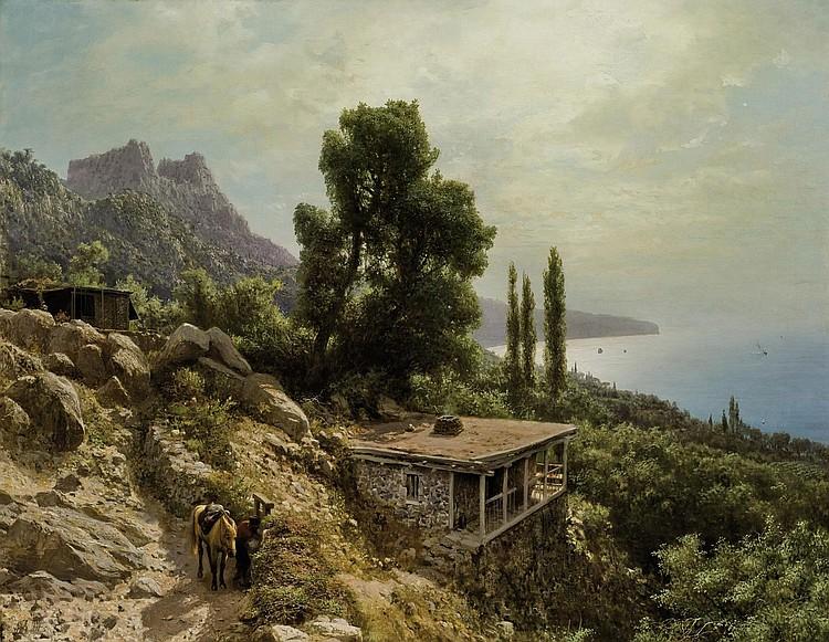 Lev Feliksovič Lagorio Works on Sale at Auction & Biography.