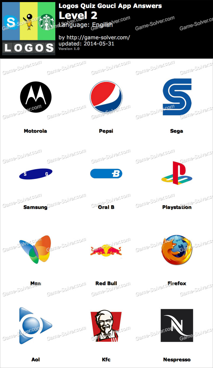 Logos Quiz Gouci App Level 2.