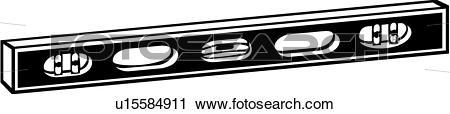 Clipart of , level, tool, u15584911.