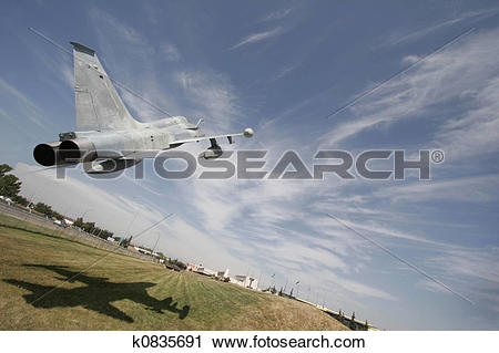 Stock Photography of Low level flight k0835691.